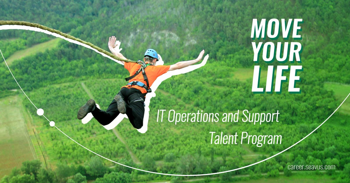 The application for the talent program for IT operations and support of Seavus is now open